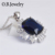 OB Jewelry-Cubic Zirconia Jewelry Set Earring ring Necklace Jewelry Sets for women gift