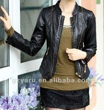 leather jacket women PU