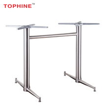 Commercial Contract Modern metal restaurant table furniture legs stainless steel dining table legs