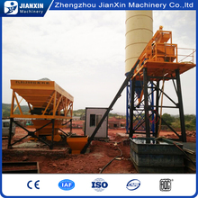 Diesel engine powered high capacity concrete batching / mixing plant