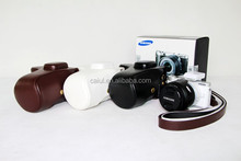 leather camera bag for samsung nx300 slr sloop camera bag
