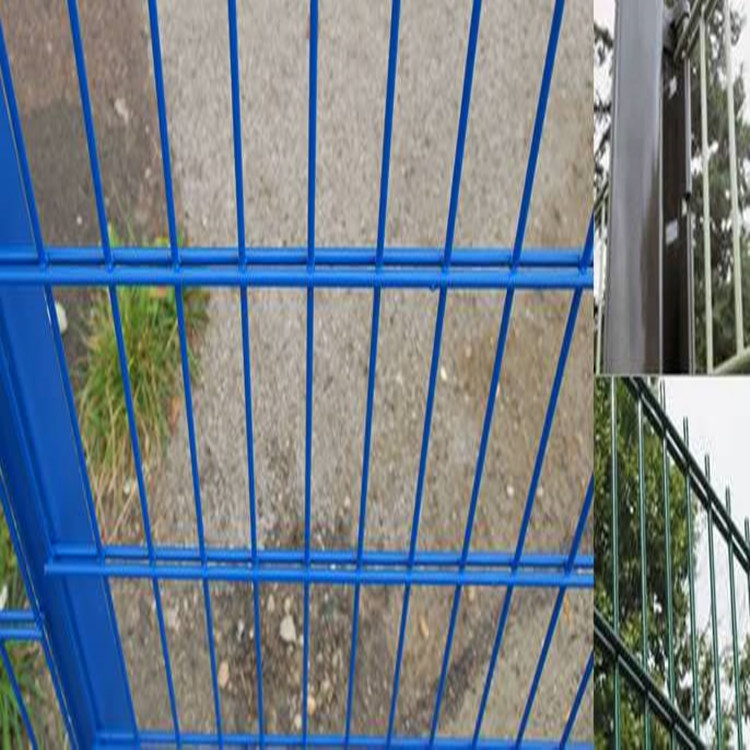 in stock high quality green plastic euro welded wire mesh fence