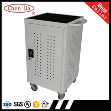 32 bit power strip popular charging cart/computer cabinet/Laptop cart with UL certification