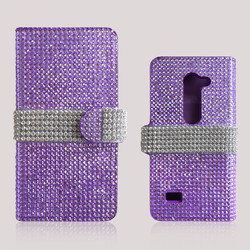 Full Diamond Flip Leather Case Cover For Samsung Galaxy V Plus