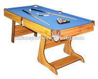 6ft cheap foldable pool table