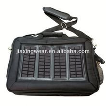 Fashion solar mobile charger bag for outdoor emergency charge