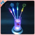 Novetly Plastic Cocktail Stirrers With Led Light