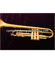 Wind musical Instrument trumpet Bb Bass Trumpet for sale