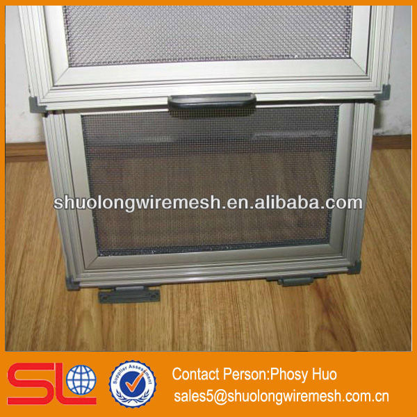 Window screen wire mesh,electric window mosquito net,stainless steel mesh security doors