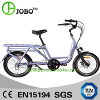 48V 500W Electric Bike Cargo Bicycle with Brushless Crank Motor