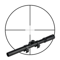 GZ1-0327 4x15 hunting tactical long range rifle scope for paintball