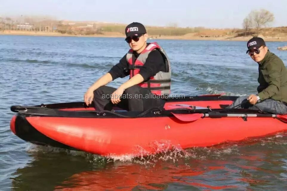 Ce Approved Inflatable Fishing Kayaks With Pedals And