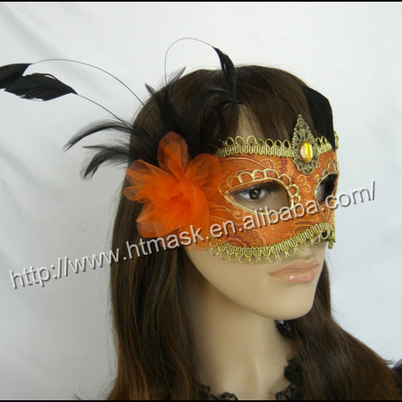 new wholesale and retail venetian masks Princess party half mask venice mask