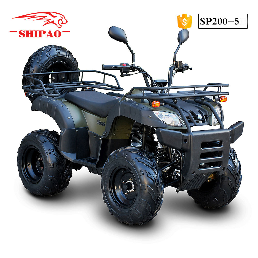 SP200-5 Shipao safety atv zongshen 200cc