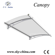 canopy design and structure for generator for window canopy