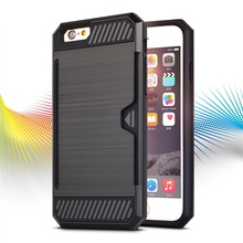 Double cell phone case for iphone 6 slim case, armor cover for iphone 6s case