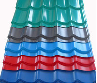 coated steel tile /building material /metal roofing price
