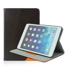 Customized Leather case for Pad Factory direct sublimation leather for ipad cases
