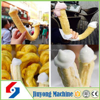 newest type professional design Hollow Corn Stick Puffing Machine