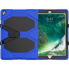 Armour rugged hybrid silicone case for iPad Pro 12.9' cover with kickstand