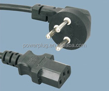sale SII certificate 3 pin Isreal Male Female AC Power cord Plug