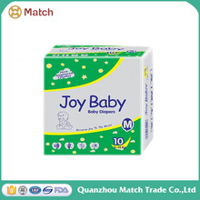 Hot sell disposable baby diapers cute pictures design