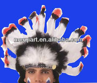 Fashion Native American Indian feather Headdress