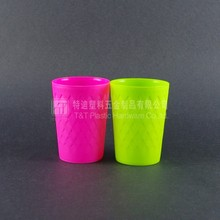 Disposable plastic cup/colorized cup made in China