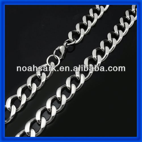 china factory cheap stainless steel chains for men TPBCN002