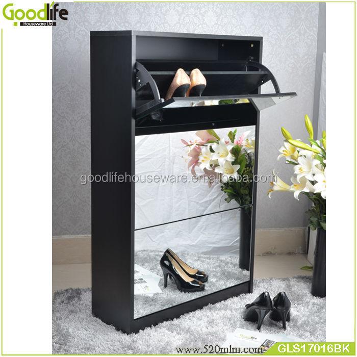 GLS17016wooden shoe cabinet-1