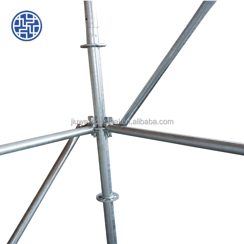 Ringlock Scaffolding/Round Ring scaffolding/Wedge lock scaffolding System for Round building made in Tianjin