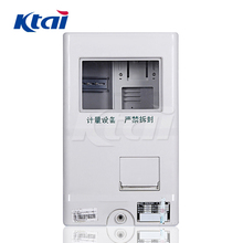 2018 hot sale single phase outdoor house electric meter box with hinges,lock and key