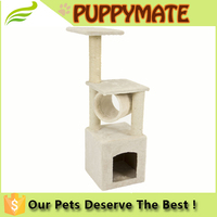 cat/kitten scratching post tree bed/cat tree condo tower