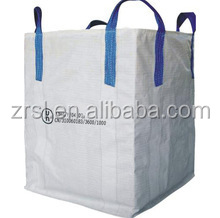 5:1 UN pp woven super sacks fibc jumbo ton bag with loading and discharging spout feed bags or for bulk lime