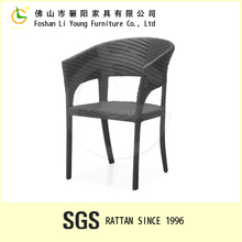 Used restaurant furniture outdoor rattan dinning chair Waterproof, Resistant from outdoor rain