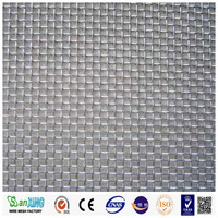 High tensile stainless steel crimped wire mesh for sieveing