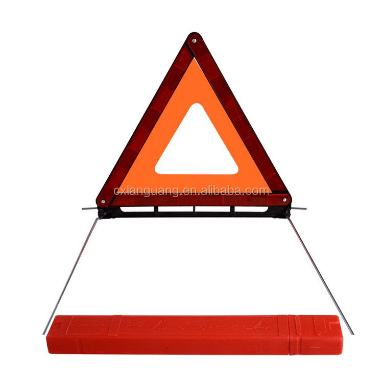 Modern useful motorbike warning triangle