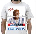 president campaign election 100%cotton printing photo t-shirt