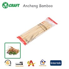 AC Factory Disposable Round BBQ Bamboo Barbecue Sticks