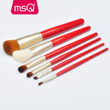 MSQ 2017 red makeup brush hot sale power brush top quality brush for <strong>cosmetics</strong>