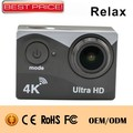 "Ultra HD go pro camera 170 degrees sport camera comparison 2"" LCD 4k ultra hd 2 inch screen private mold action camera"