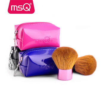 MSQ high quality colorful style synthetic hair kabuki brush hot sale powder cosmetic single makeup brush