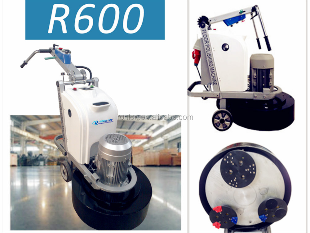 R600 CE Approved concrete floor polisher