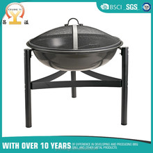 Cheap wholesale round metal garden treasures fire pit outdoor