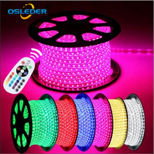 Best Price 60 Leds per Meter 100m/roll LED Strip Light 220-240v Waterproof SMD 5050 Flexible <strong>RGB</strong> Led