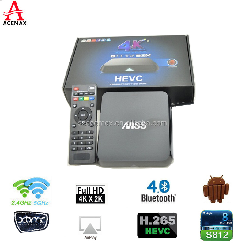 M8S quad core android 4.4 tv box/ media box internet tv with OEM <strong>services</strong>
