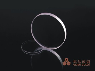 1.1mm borosilicate glass coating black color