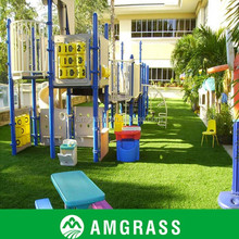 40 mm height Non-filling sports artificial lawn surface flooring carpet