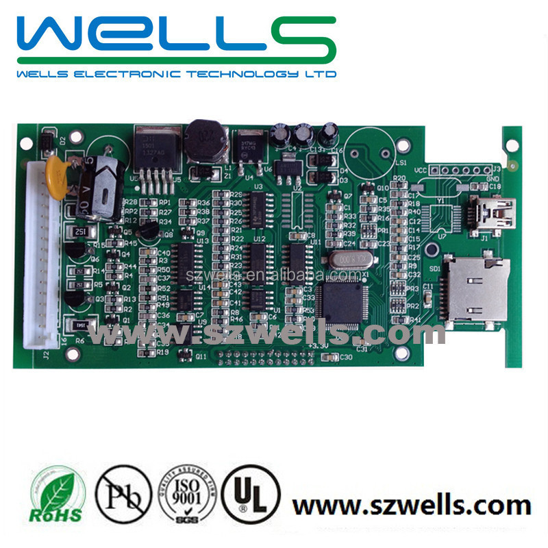 Shenzhen Wells electronic pcba with component