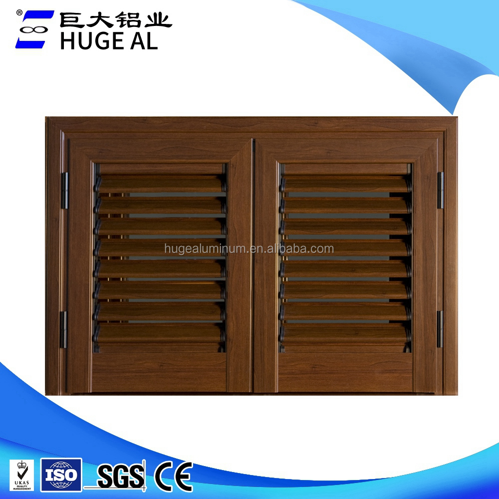 China custom motorized window louver